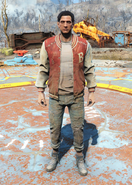 Fo4Letterman's Jacket and Jeans male