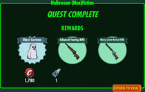 FoS Halloween (Non)Fiction rewards