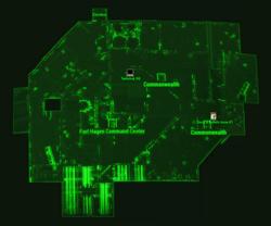 Fort Hagen map