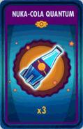 Fos Card Nuka-Cola Quantum x3