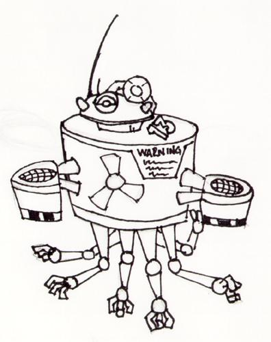 Mr.Handy concept art