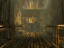 Sloan worker barracks interior