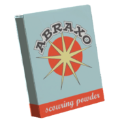Undamaged abraxo cleaner