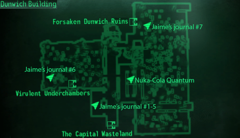 Dunwich Building | Fallout Wiki | FANDOM powered by Wikia on fallout 3 dunwich ruins, fallout journal, fallout 3 dunwich bobblehead, subway under capitol building, fallout 3 chryslus building, fallout dunwich horror,