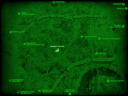 FO4 Аркджет системс (карта мира)