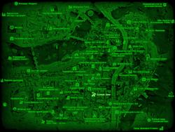 FO4 Боевая зона (карта мира)