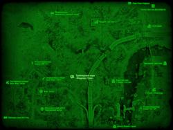 FO4 Трейлерный парк «Фидлерс Грин» (карта мира)