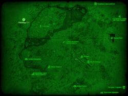 FO4 Убежище 111 (карта мира)