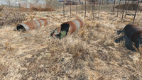 FO4 National Guard training yard green bag