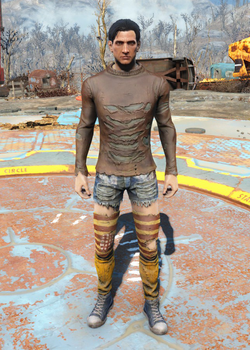 Fo4 Ripped Shirt and Socks