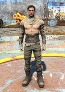 Gunner leather male