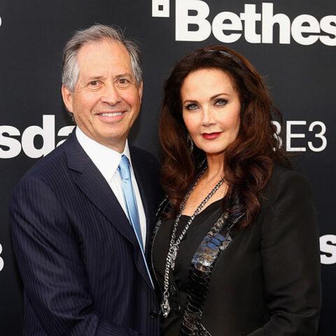 Лінда з чоловіком Робертом Альтманом на Bethesda's E3 Showcase, у червні 2015 року.