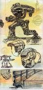 Sentry bot CA6