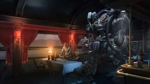 Exploring Wolfenstein The New Order - On a Train to Berlin (PEGI)