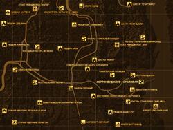 FNV Карта КОТТОНВУД-КОУВ - СТОЛОВАЯ