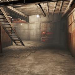 Interior of living area