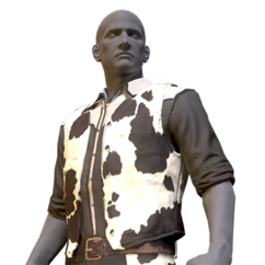 FO76 Atomic Shop - Cowhide outfit
