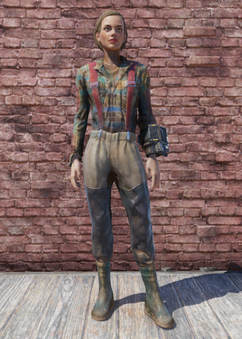 FO76 Fisherman Outfit