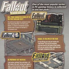<i>Fallout Trilogy</i> (2009 edition): back