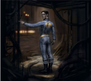 Vault 10 suit The Art of Fallout 4