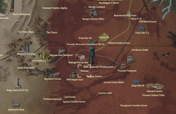 Watoga map