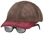 Детская шапочка с очками (ft)
