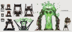 Art of Fallout 4 signal interceptor