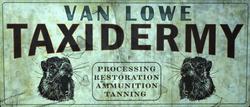 FO76WA Van Lowe Taxidermy log