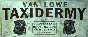 Van Lowe Taxidermy Fallout Wiki Fandom
