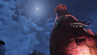 FO76 Soda bottle gazing at the moon