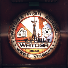 Watoga High School logo