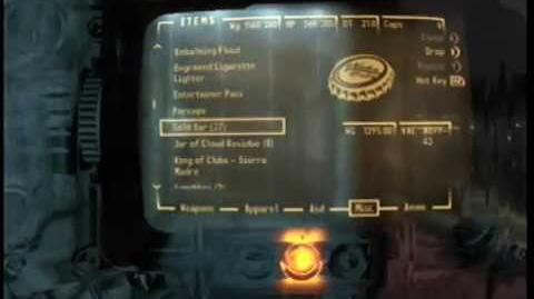 Fallout New Vegas How to Escape the Sierra Madre Vault With All 37 Gold Bars