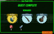FoS Into Vault 333! reward