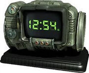 Pip-Boy 3000 digital clock