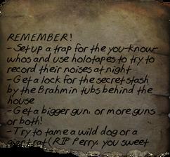 Scott's Reminders