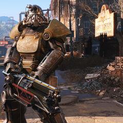 T-51, графічні технології Fallout 4