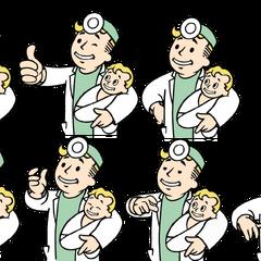 Анимація при народженні дитини