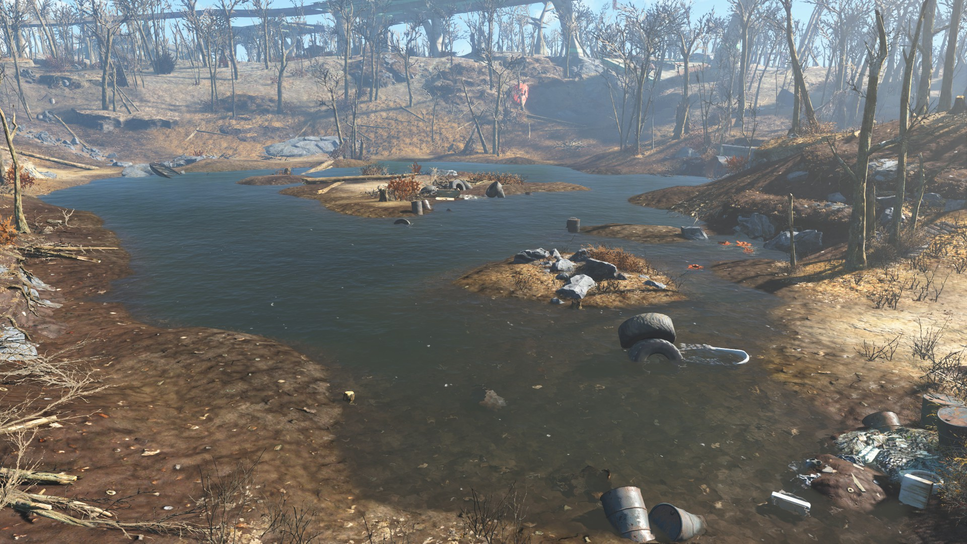Walden Pond   Fallout Wiki   FANDOM powered by Wikia