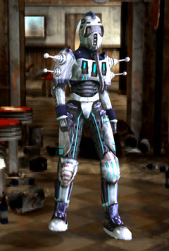 FOBOS Nadia (Tesla armor)