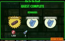 FoS Aim for the Head - rewards