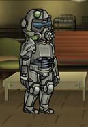 FoS Servoarmadura T-45d masculino