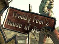 House of Scares sign
