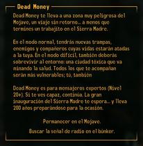 MensajeDeadMoney
