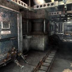 Bomb storage Tara's body