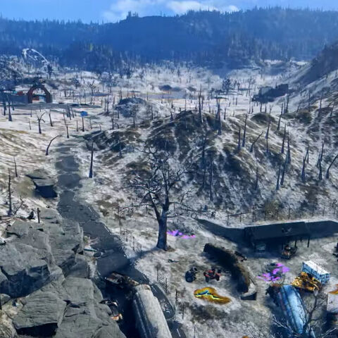 Кадр з фільму «створення <i>Fallout 76</i>»