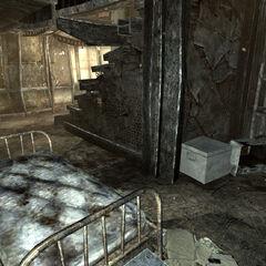 Спальня найманця за сходами