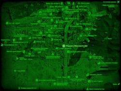 FO4 Медцентр Массачусетс-Бэй (карта мира)