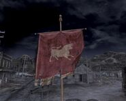 Sztandar legionu w nipton