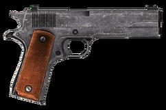 45 Auto pistol