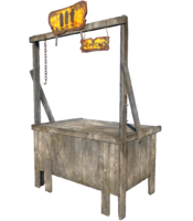 FO4 Weapons Stand